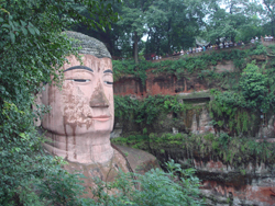 The face of the Grand Buddha