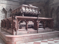 Tomb of Fredrick III in St Stephens Cathedral in Vienna