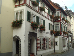 Old town buildings in Bregenz