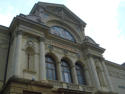 Façade of the Museum of Art and History of Neuchâtel