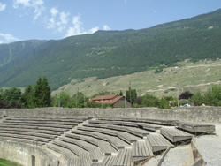 The Amphitheatre at Martigny