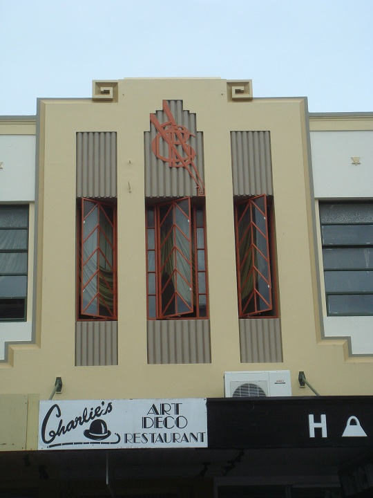 Napier - Art Deco building