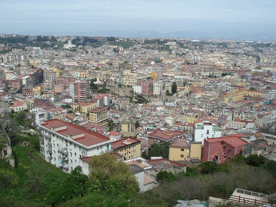 Napoli - view from Sant'Elmo