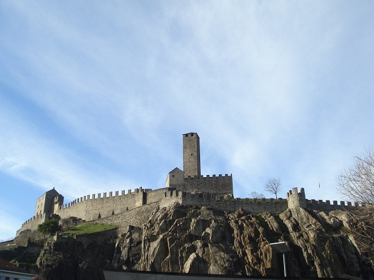 Bellinzona - UNESCO-listed Castelgrande