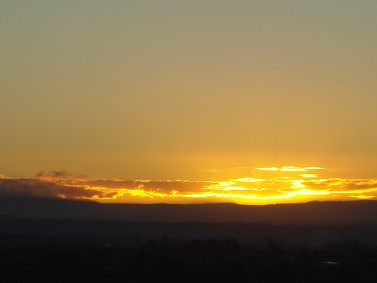 Havelock North - Sunset over Hawkes Bay