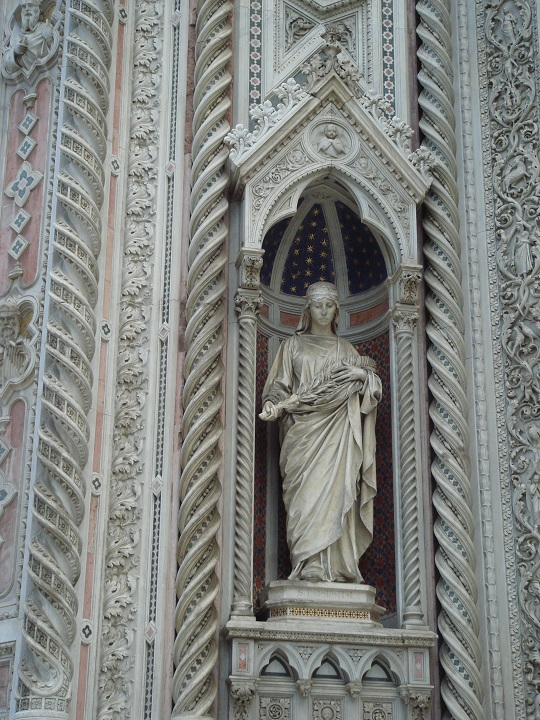 Florence Duomo - detail of the exterior