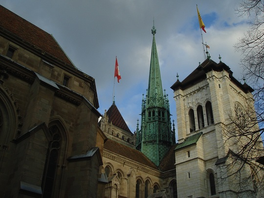 Geneva - Cathedral St Pierre