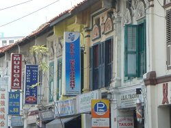 Singapore - signs of Little India by day