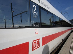 Basel SBB - Deutsche Bahn train