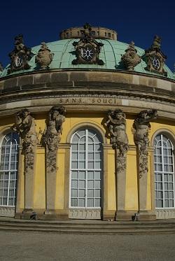 Potsdam - Schloss Sans Souci