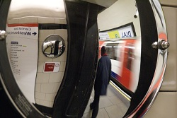 London - Queensway Underground station