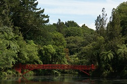 New Plymouth - bridge of Pukekura Park