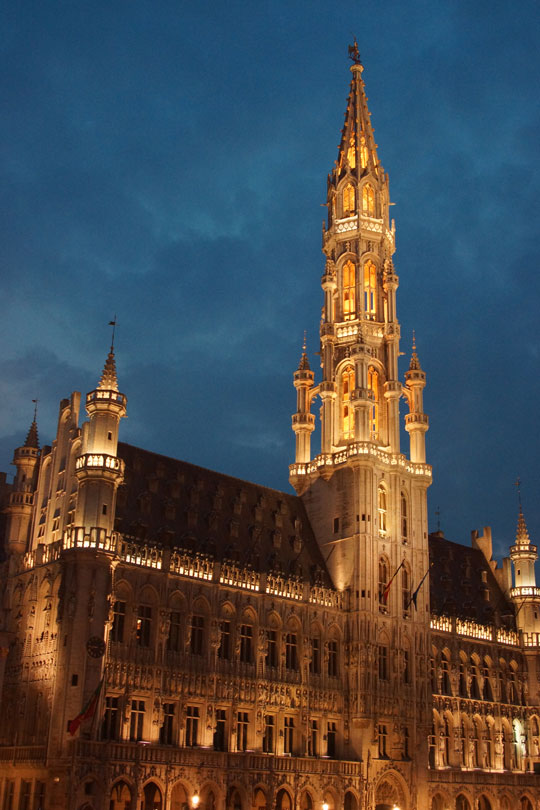Brussels - City Hall on the Grand Place
