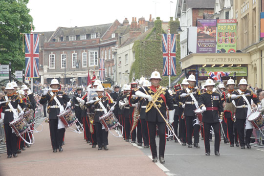 Windsor - Diamond Jubilee Military pageant