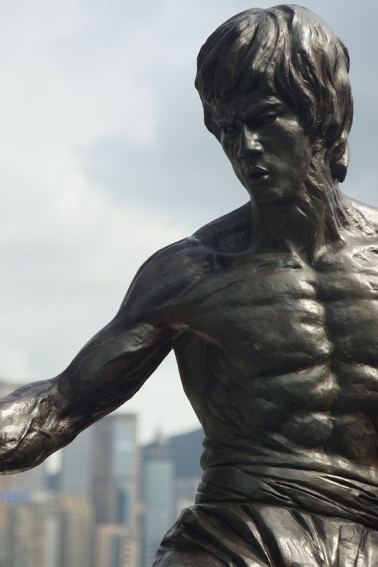 Kowloon - Bruce Lee at the Avenue of Stars