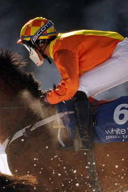 St Moritz - Jockey at White Turf